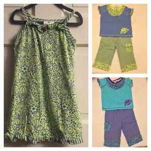 Hanna Andersson Pajamas Bundle Size 100 / 4 years